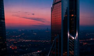 Moscow City Nights