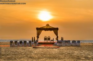 A sunset Wedding in Goa