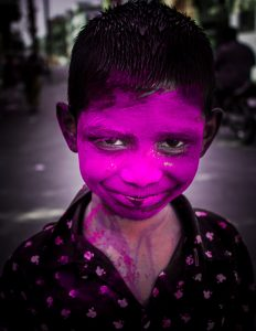 Smiles Of Holi