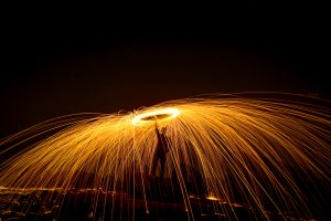 Steel Wool Play