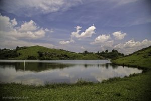 Lake on the Hills top