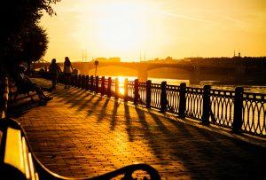 Tver Volga Sunset