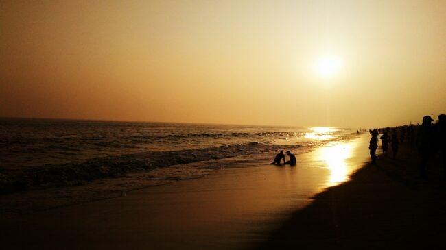 Beautiful puri beach