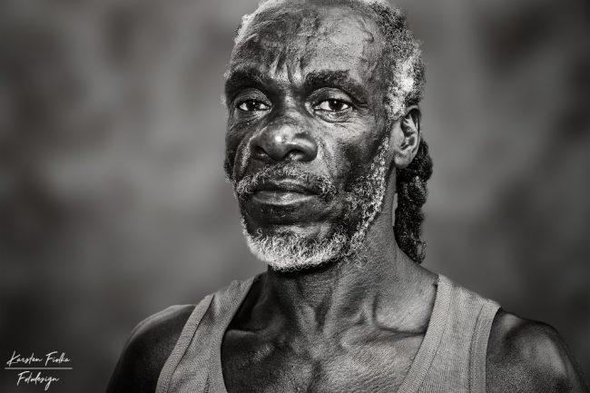 Karsten Fiolka - Portrait of a Jamaican Man